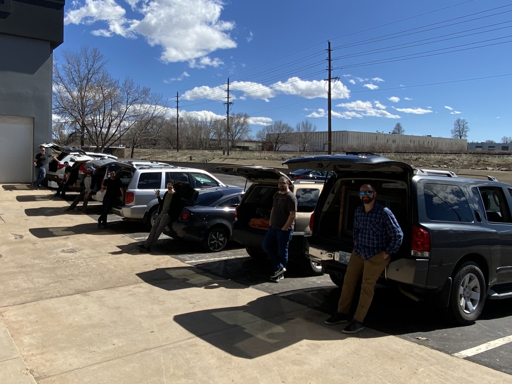 Canvas Team Loading Up To Move Equipment To Their Homes In Boulder
